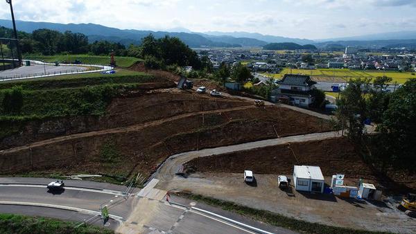 令和2年度 総合交付金 総合運動公園整備事業 園路整備工事